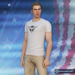 Steve Rogers (SSR Costume Model) by AndersonGSM