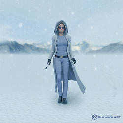 Winter Mood - RHenderART by AndersonGSM