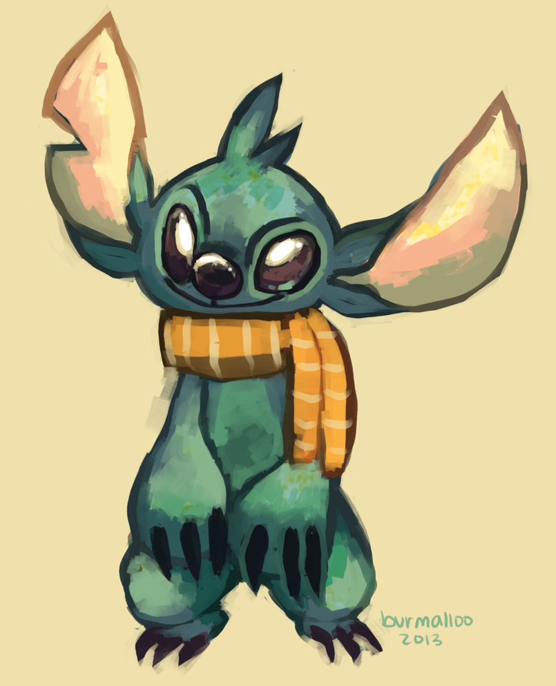 Stitch by burmalloo