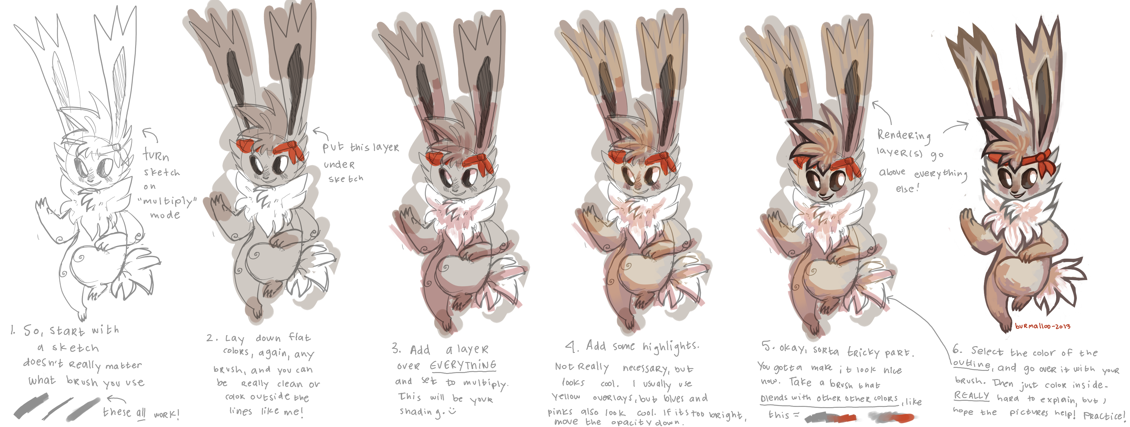 Burmii's painty tutorial by burmalloo