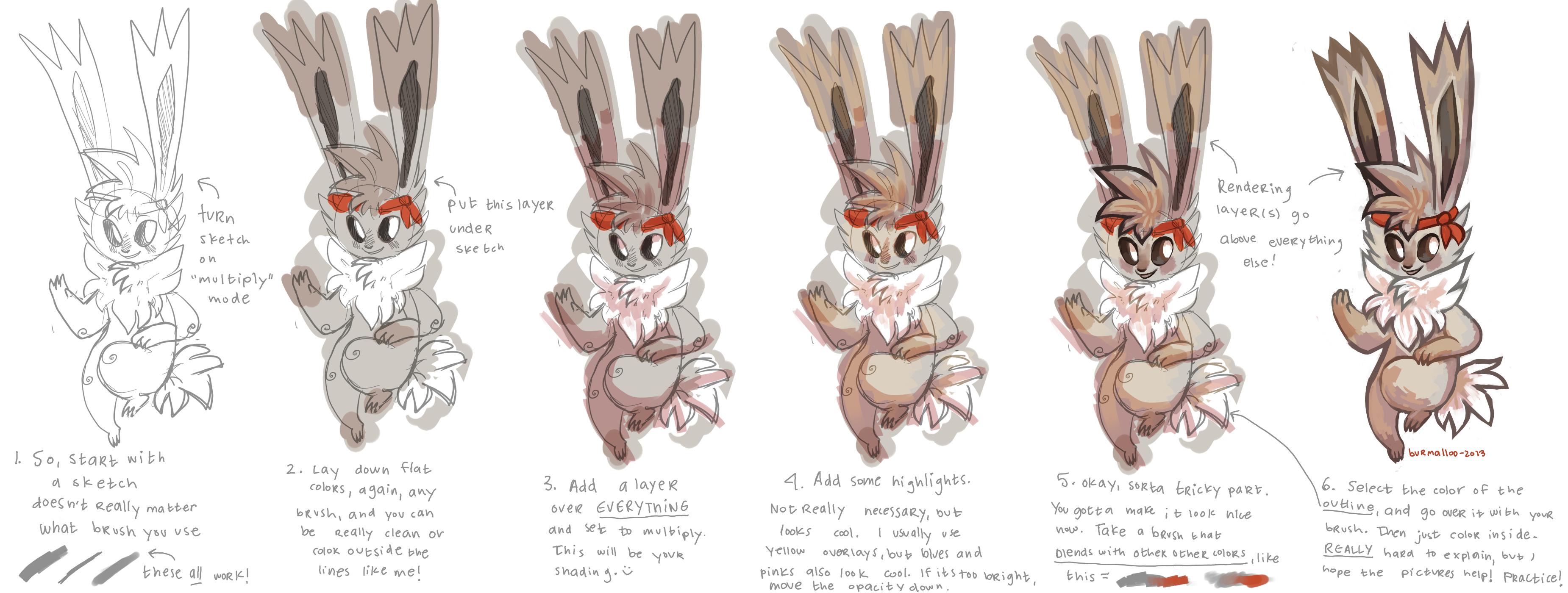 Burmii's painty tutorial by burmalloo