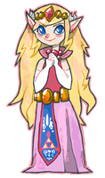 Zelda for WW Collab by burmalloo