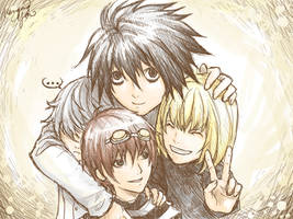 Wammy Family Sketch by yuumei