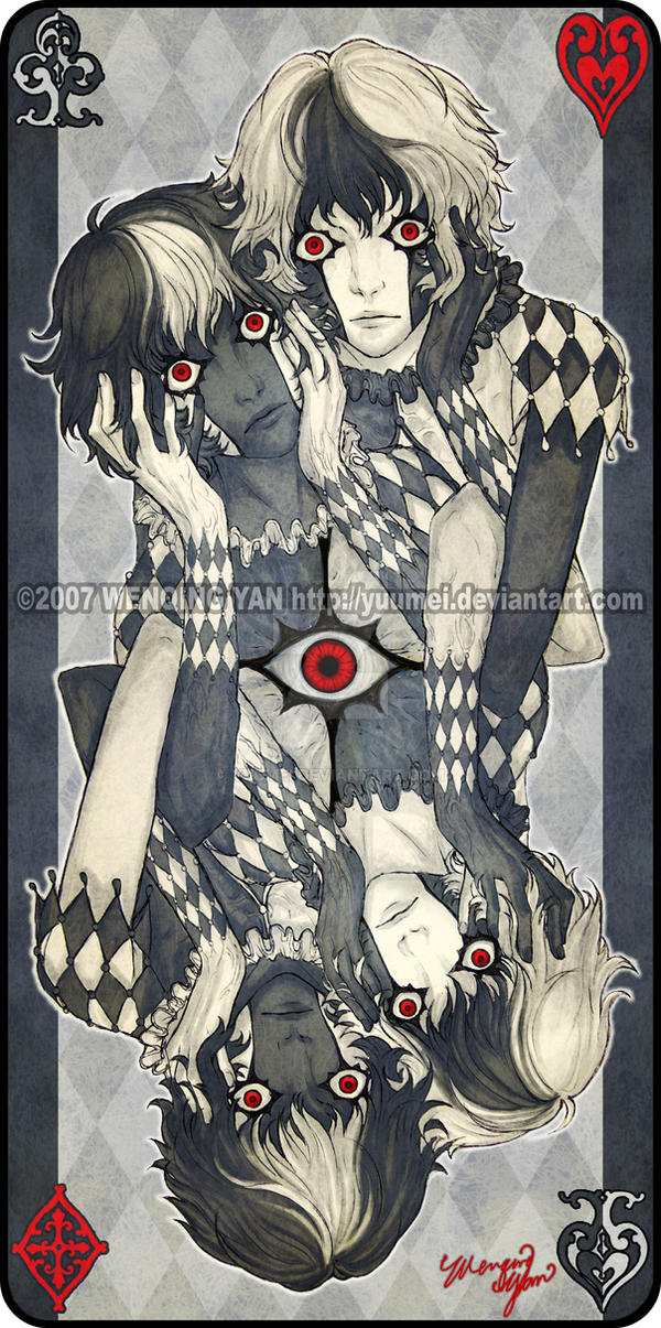 Augen Auf: Back Design by yuumei