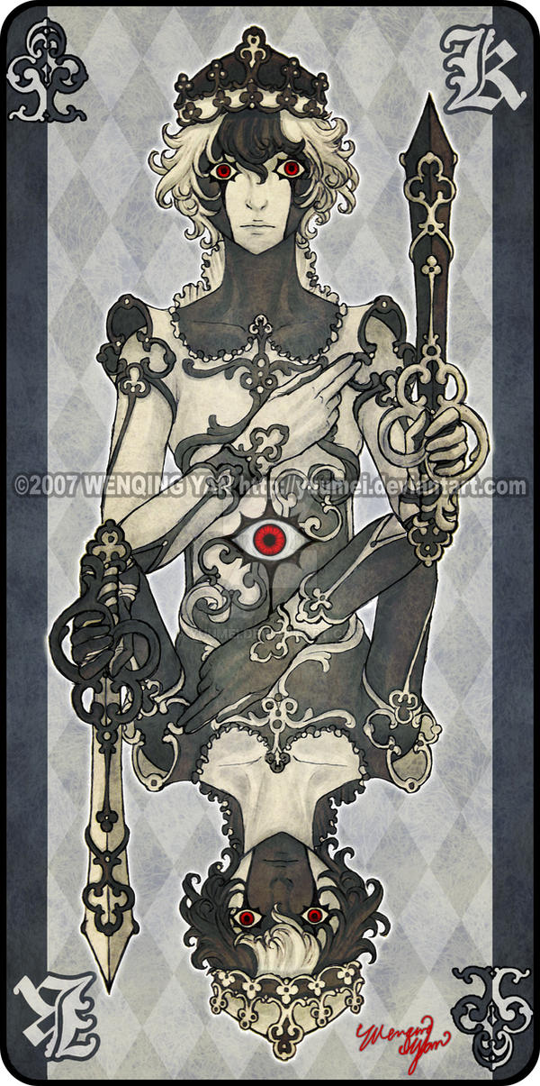 Augen Auf: King of Clubs by yuumei