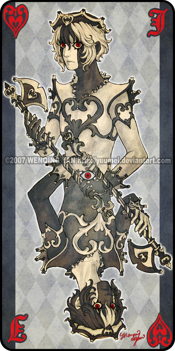 Augen Auf: Jack of Hearts by yuumei