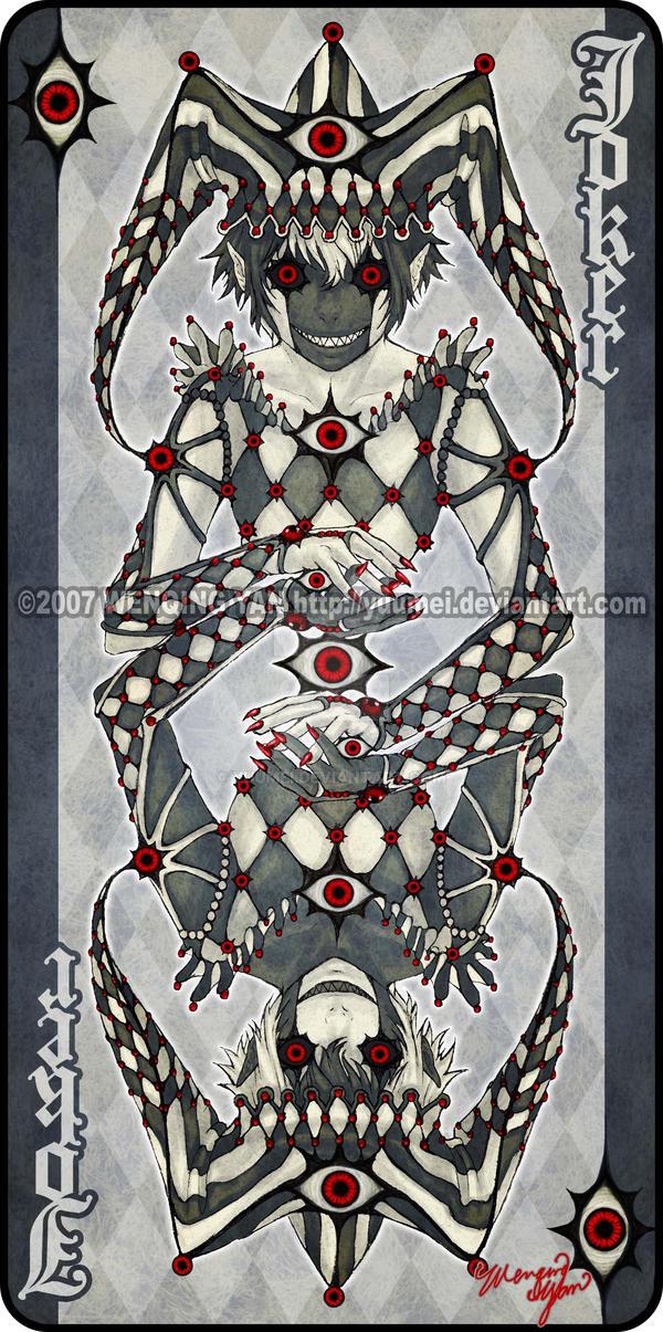 Augen Auf: Joker 1 by yuumei