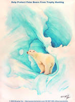 Let There Be Life: Polar Bears by yuumei