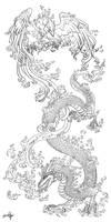 DragonPhoenix tattooCommission