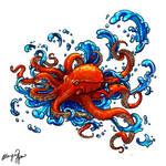 Octopus Tattoo commission