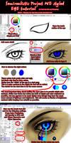 Semirealistic Eye Tutorial