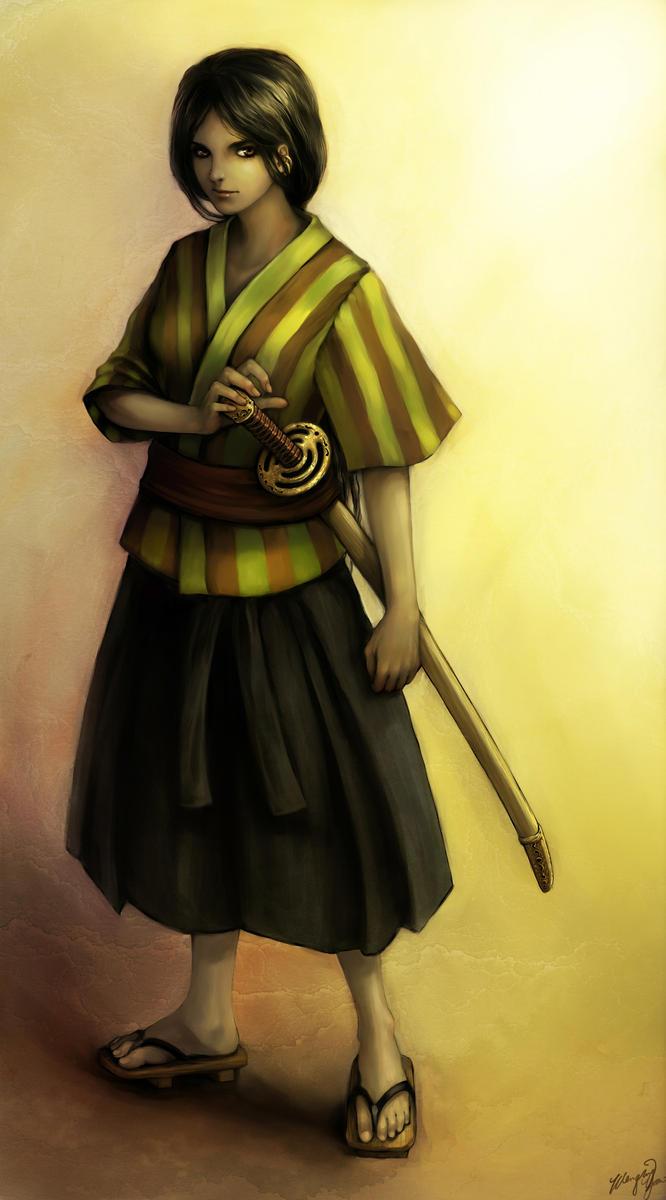 Gypsy Samurai Commission by yuumei