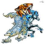 animal x3 tattoo commission