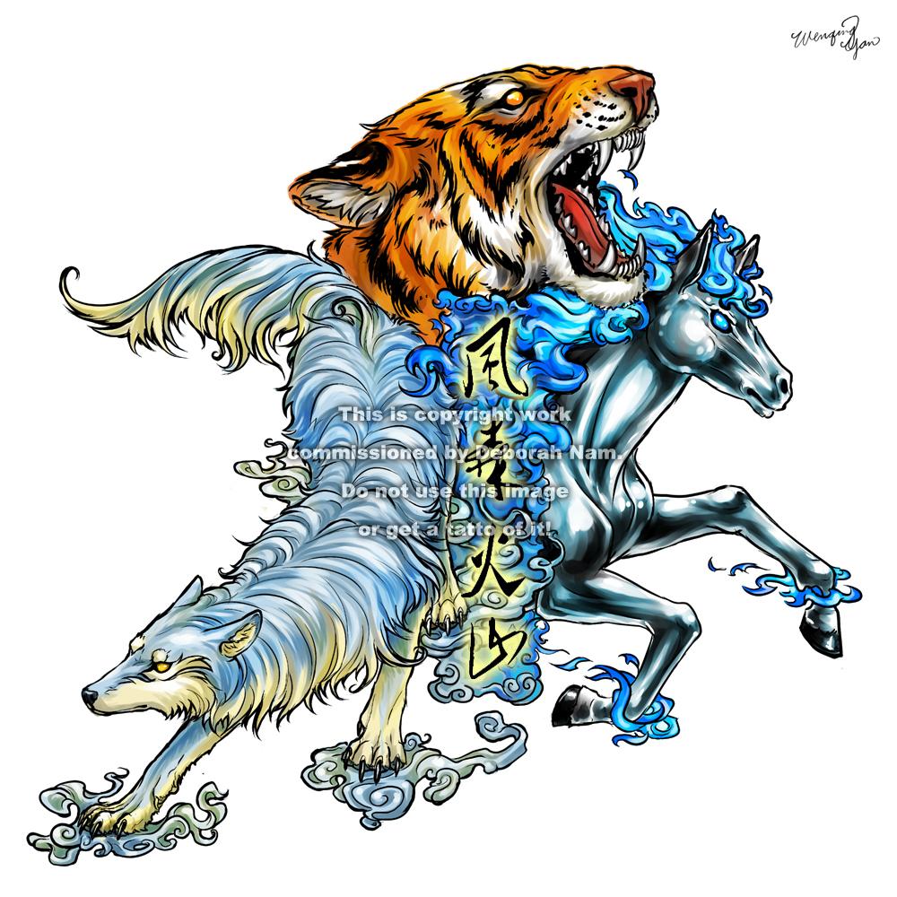 Tattoo Designs Of Animal: August 2009