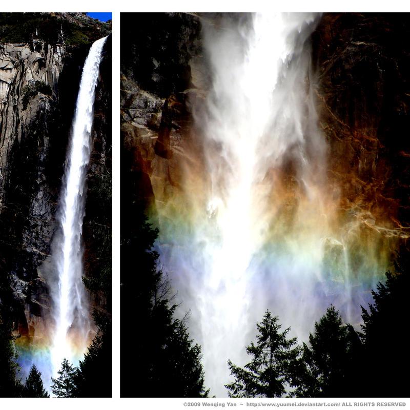Rainbow Falls by yuumei