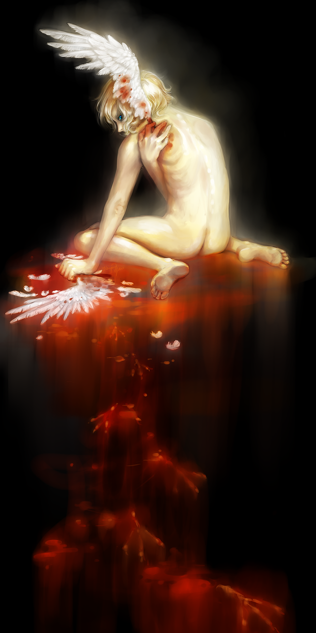 Stolen Wings by yuumei