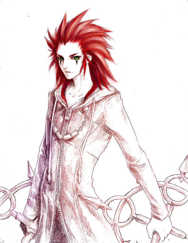 Axel commission by yuumei