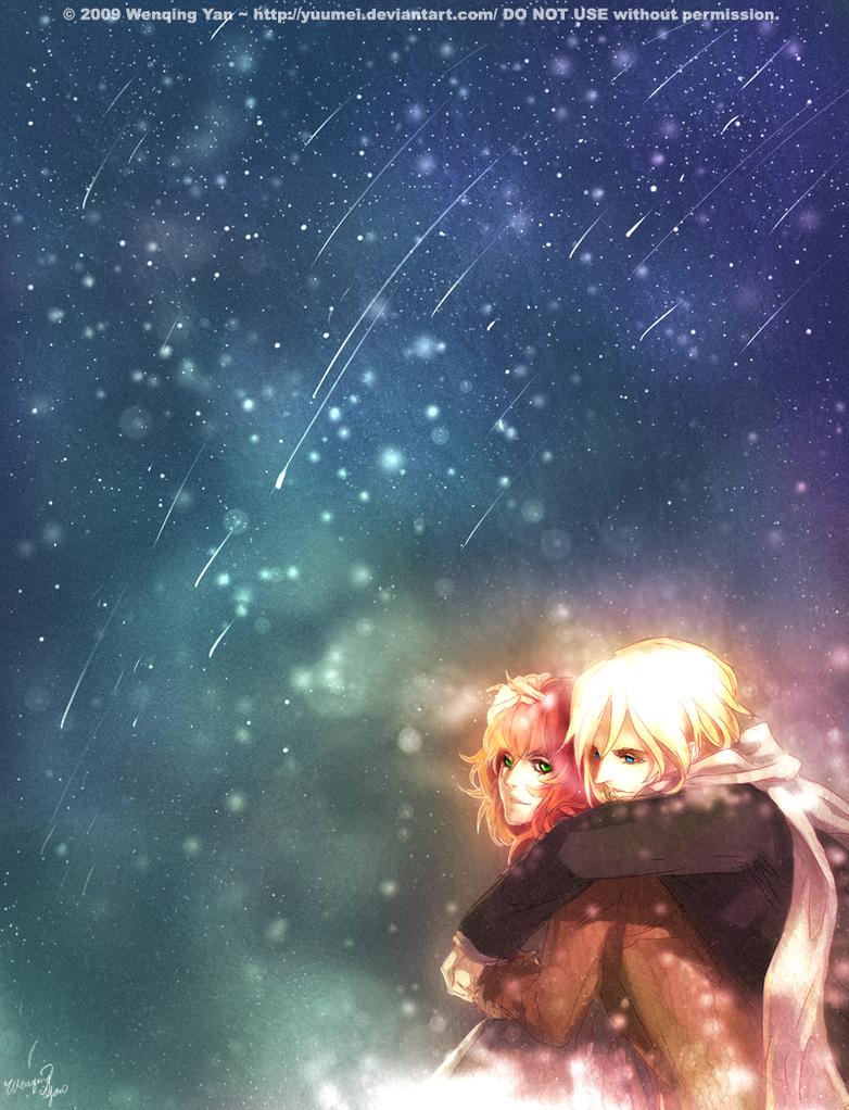Make a Wish Tonight by yuumei