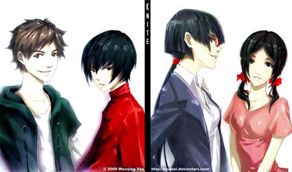 Knite Character Designs by yuumei