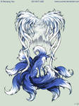 9 Tailed Fox Tattoo Commission
