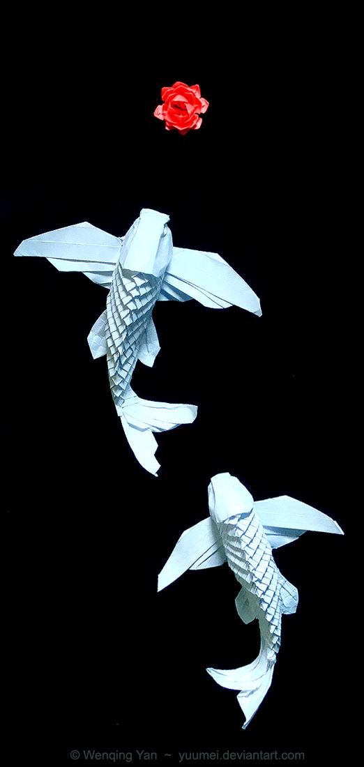 Origami Winged Koi