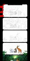 Princess Mononoke Process