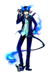 Blue Exorcist by yuumei