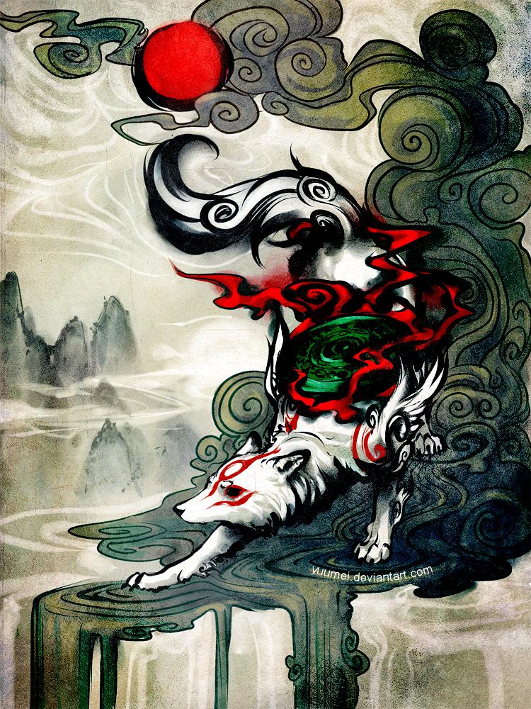 Okami by yuumei
