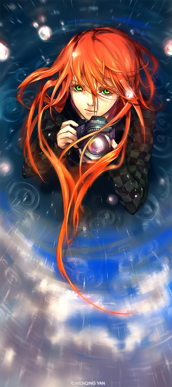 Fisheye Placebo:Distorted Lens by yuumei