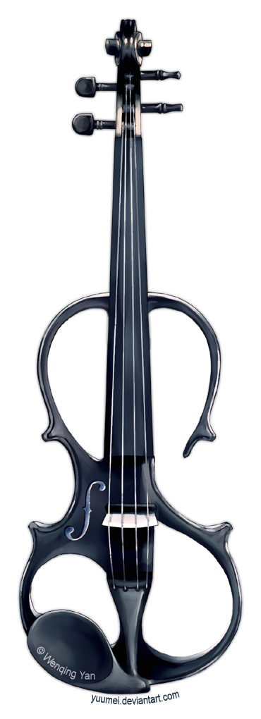 Electric Violin Design by yuumei