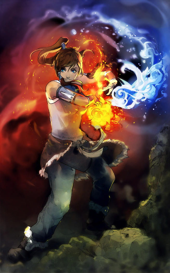 The Legend of Korra by yuumei