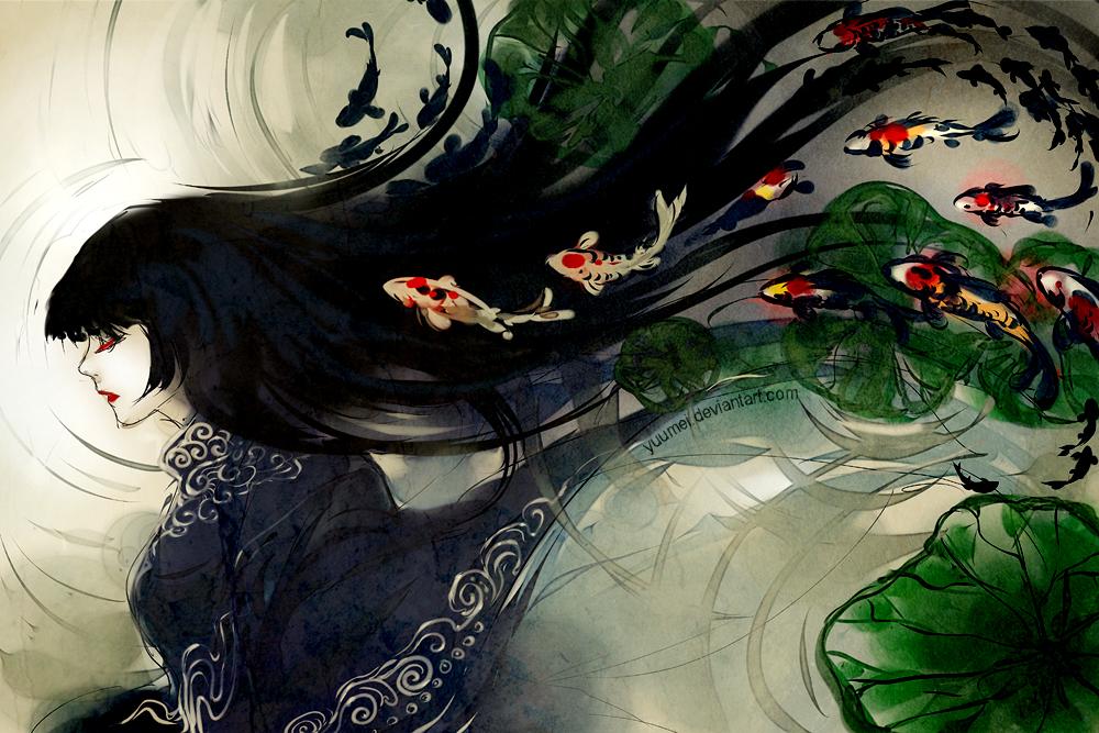 Quiet Meditation by yuumei