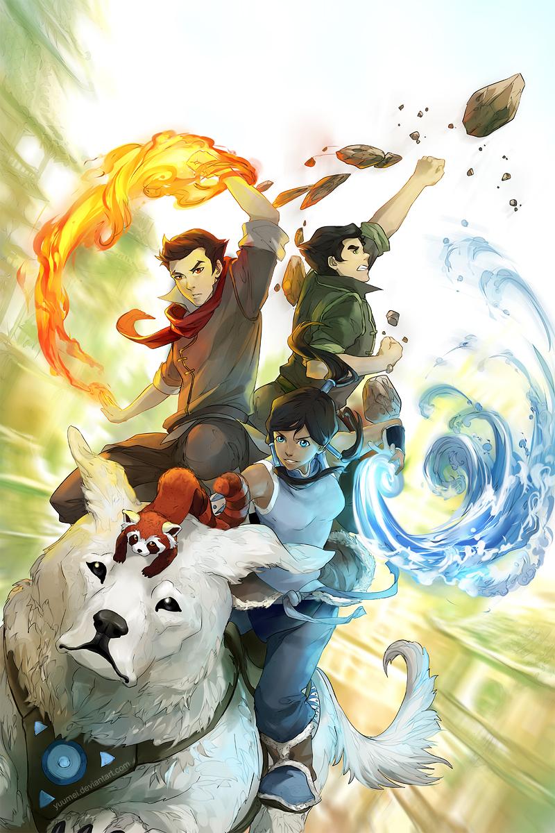 Go Fire Ferrets! by yuumei