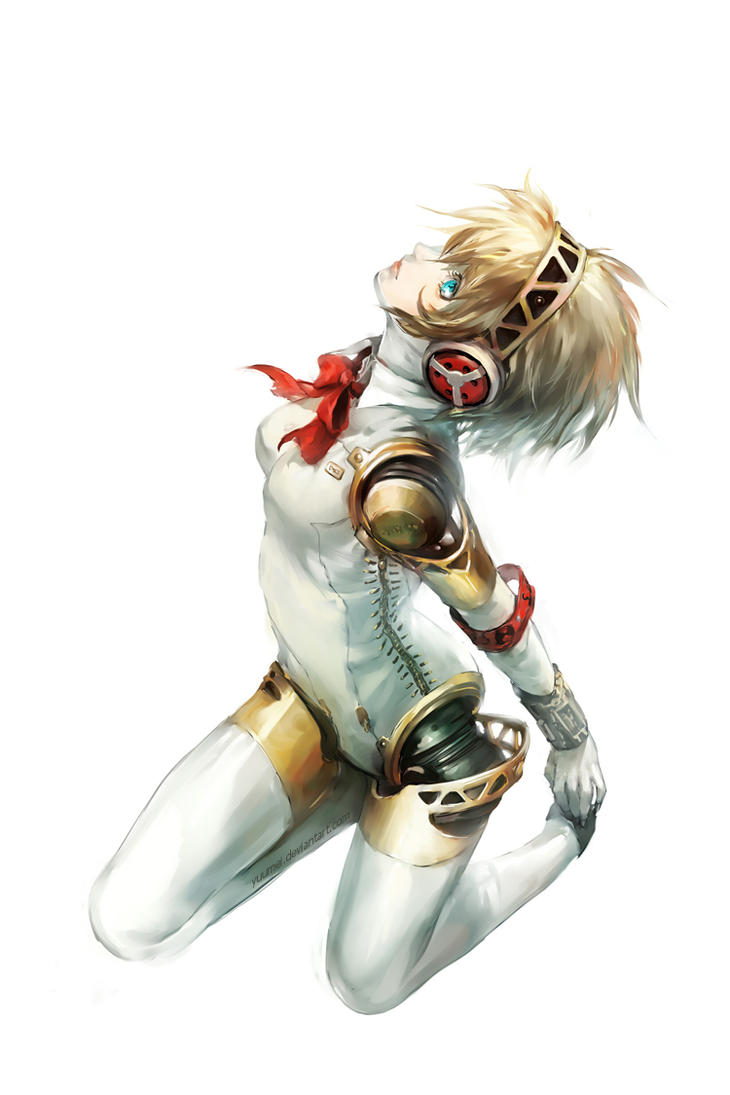 Persona 3: Aegis by yuumei