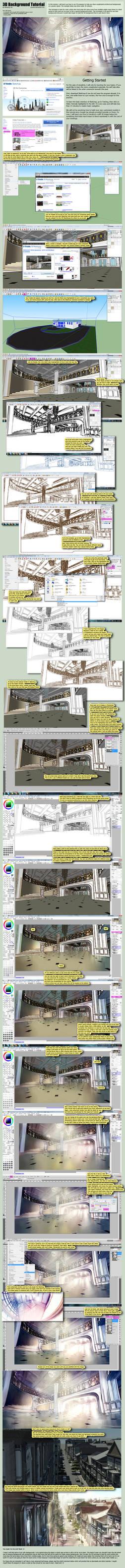 3D background Tutorial