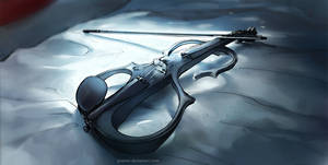 Fisheye Placebo: Electric Violin by yuumei