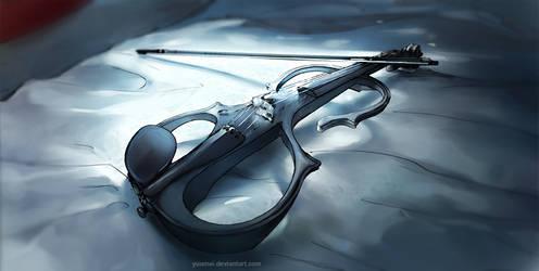 Fisheye Placebo: Electric Violin