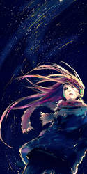 Falling Lights by yuumei