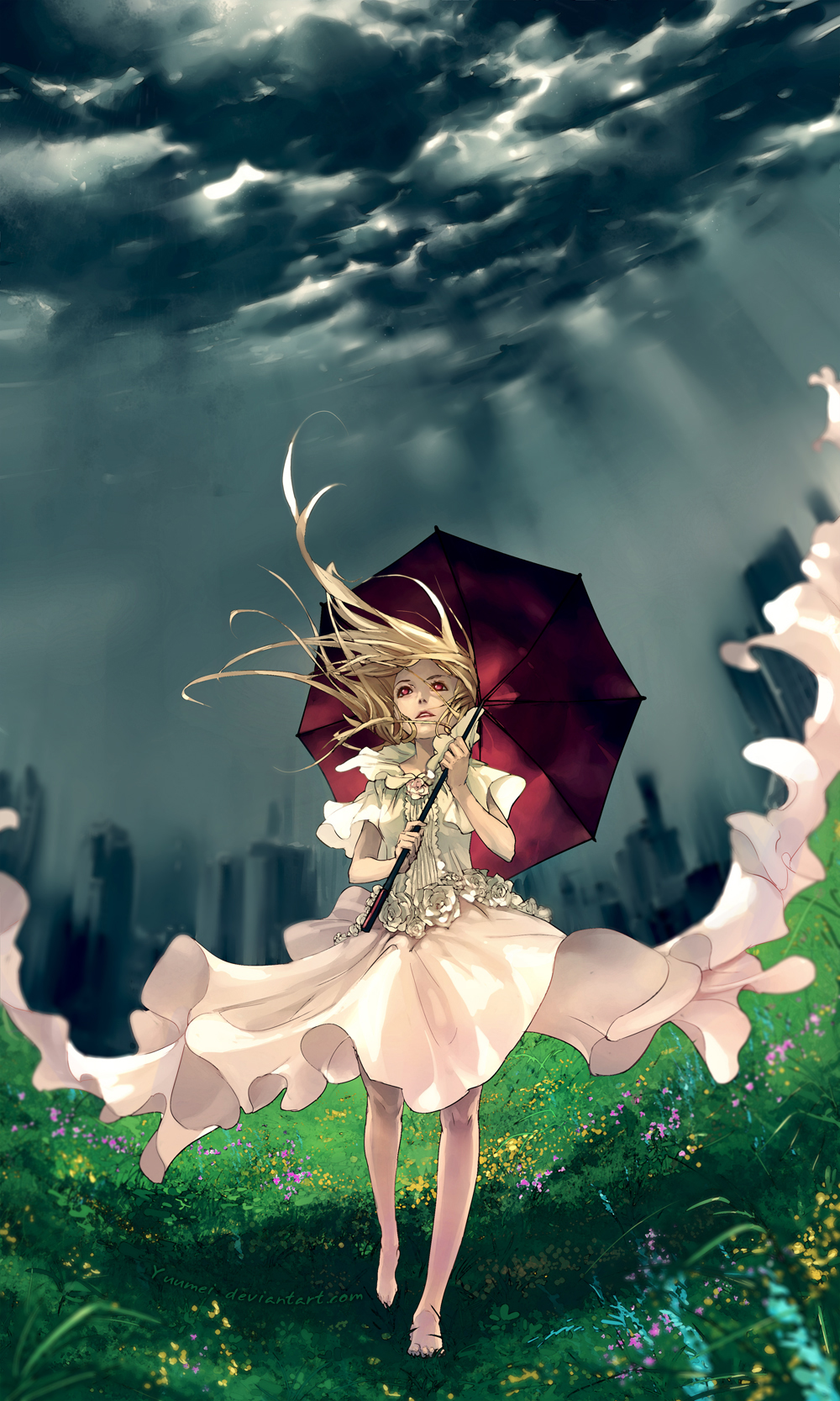 Don't Rain on My Parade by yuumei