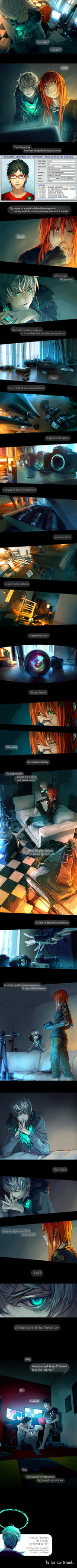Fisheye Placebo: Ch0 - Part 2 by yuumei