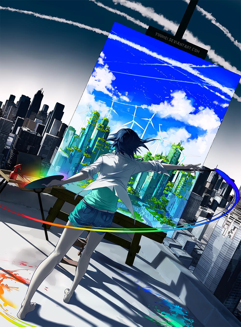 Re-Imagine by yuumei