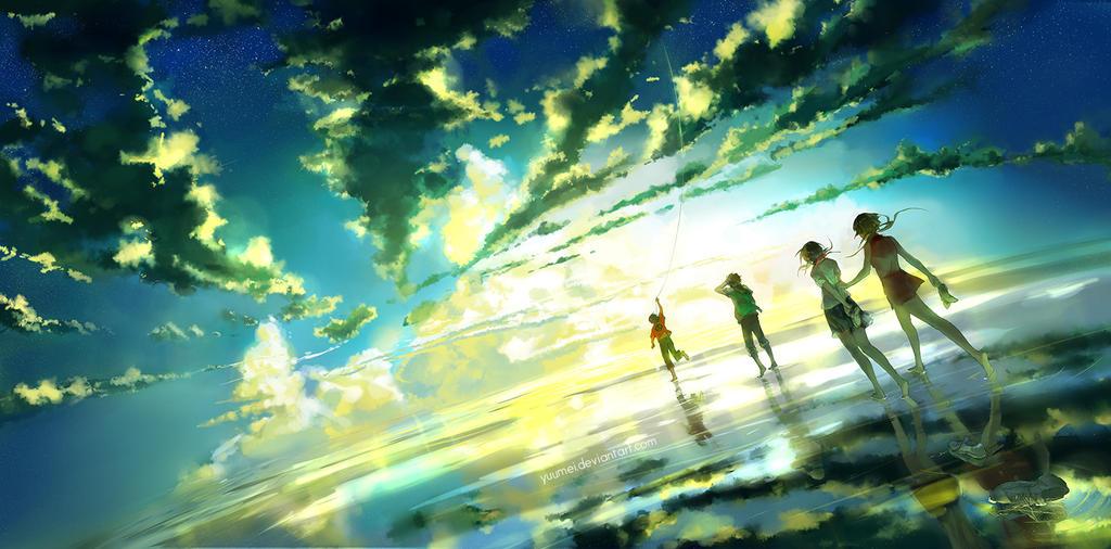 Between Infinity by yuumei