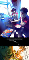Fisheye Placebo: Ch0 - Part 4 by yuumei
