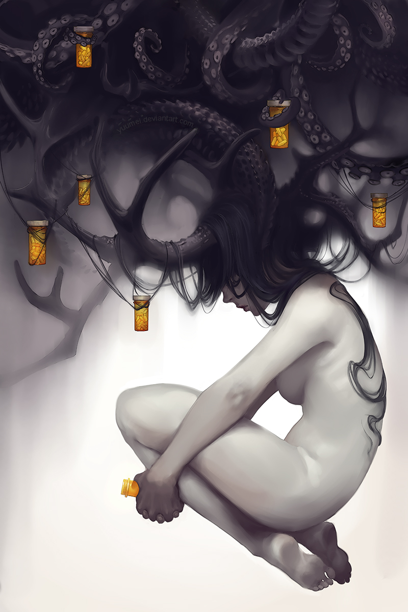 Dread by yuumei