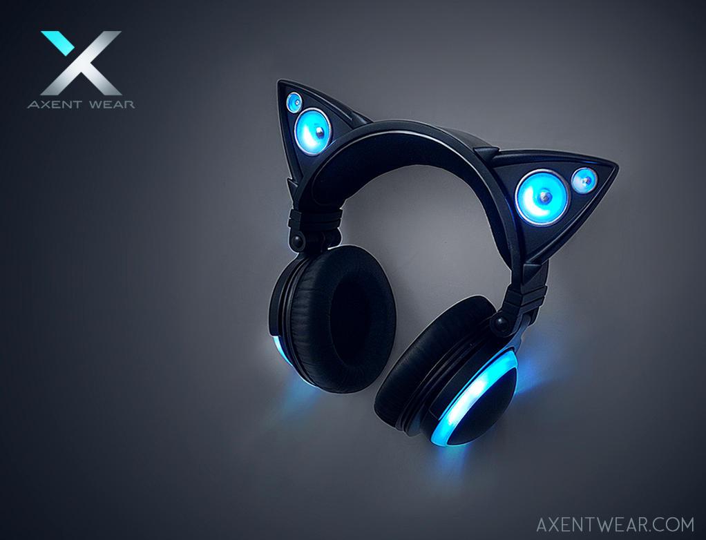 Axent Wear Cat Ear Headphones by yuumei on DeviantArt