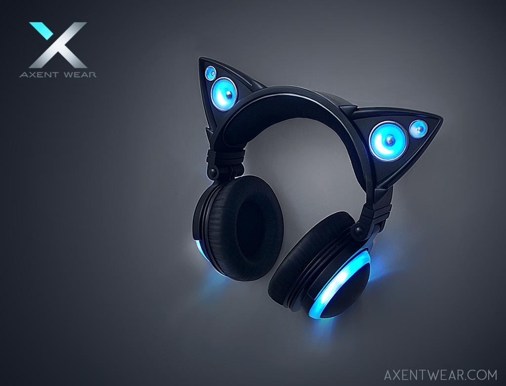 Axent Wear Cat Ear Headphones by yuumei