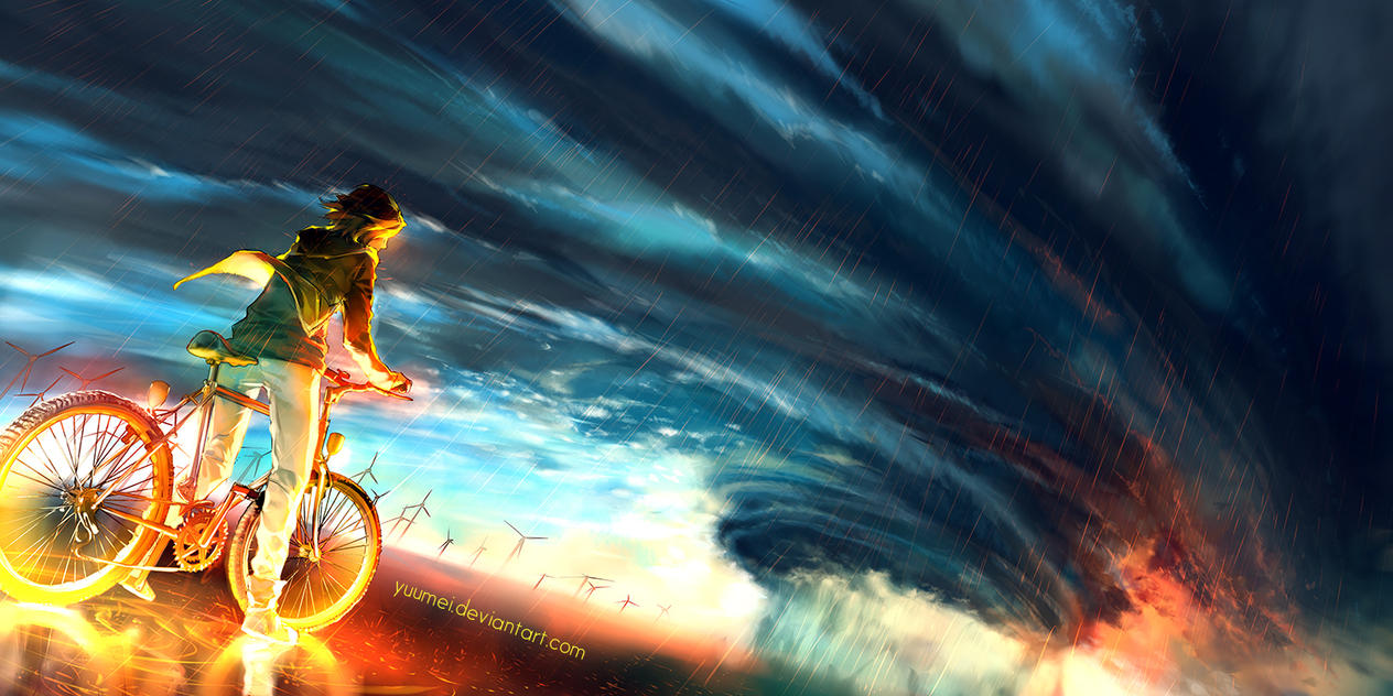 Into The Storm by yuumei on DeviantArt