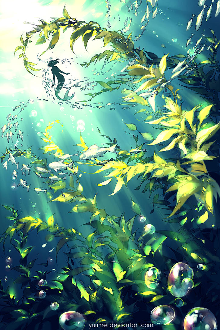 Forest of the Sea by yuumei