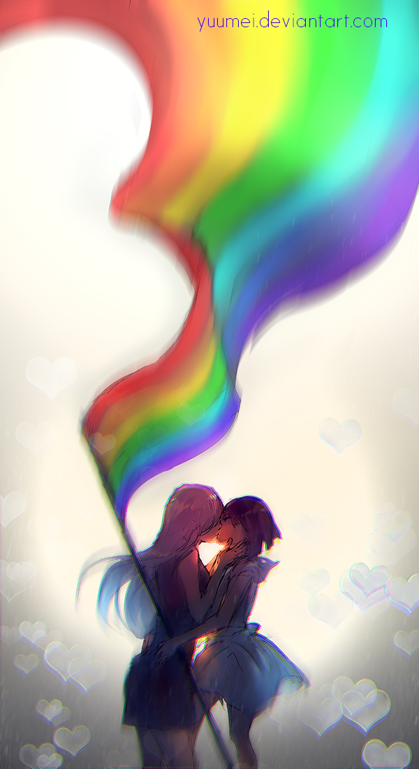 Love Wallpaper Deviantart : Love Wins by yuumei on DeviantArt