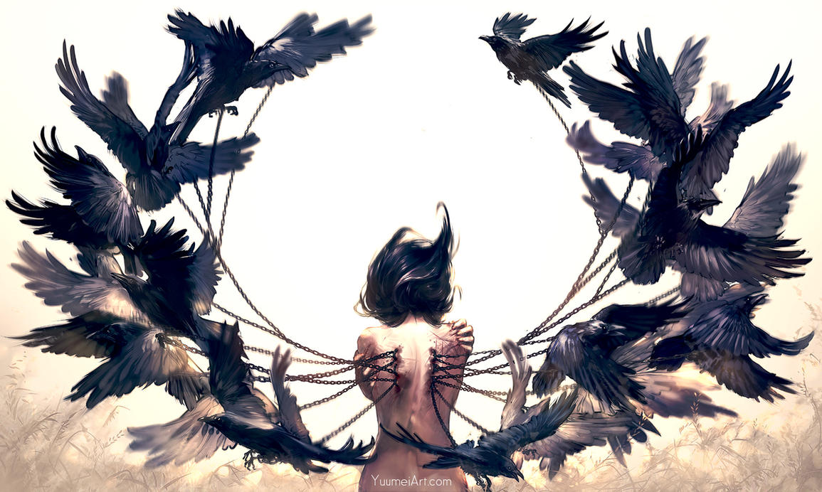 What It Takes To Fly by yuumei